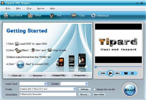 format dvd rip a professional piece of software to rip dvd and convert video