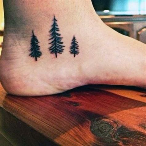 pine tree outline tattoo www pixshark com images