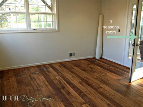 linoleum wood flooring faux hardwood we went with a
