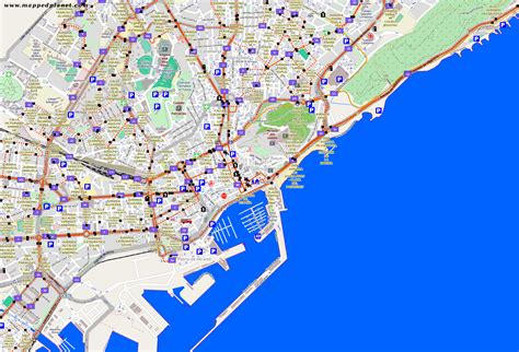 map of alicante city city maps alicante