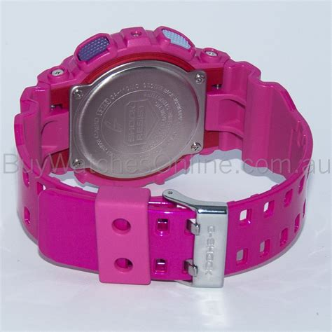 baby g ga 110 pink casio g shock unisex pink colours analogue digital