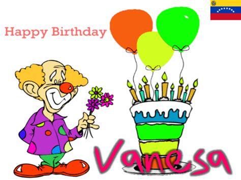 imagenes feliz cumpleaños vanesa feliz cumplea 241 os vanessa imagui