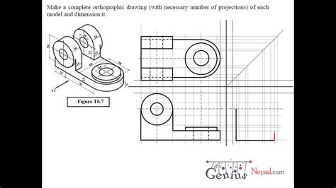sectional views pdf engineering drawing tutorials orthographic drawing