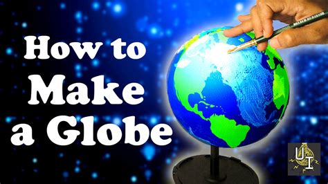 How To Make A Paper World - how to make a globe using diy earth model