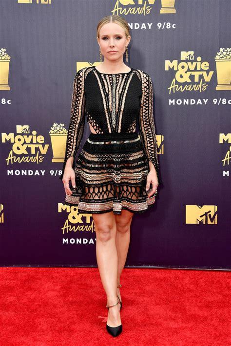Style Kristen Bell Fabsugar Want Need by Kristen Bell Sheer Dress Newest Looks Stylebistro