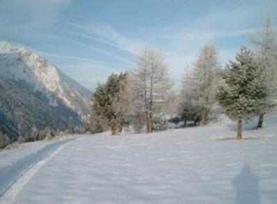 ufficio turismo cogne tracciato invernale per pedoni o con racchette da neve