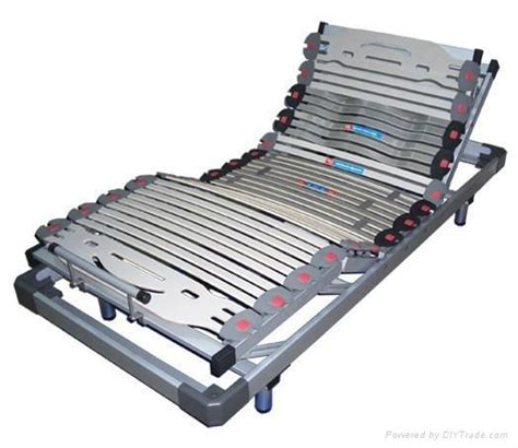 wood slatted adjustable bed frame wm   flexica  oem china manufacturer products