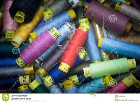 colorful thread wallpaper many colorful spools of thread for sewing background stock