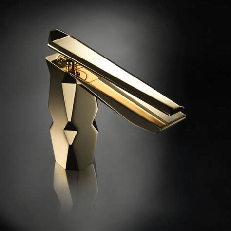 luxury gold bathroom faucet