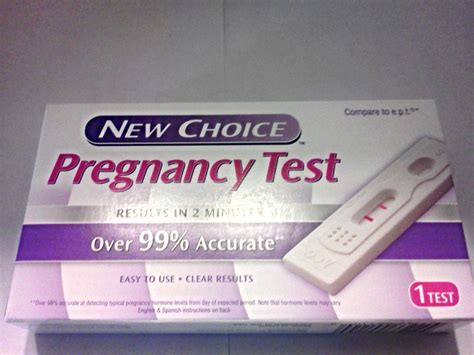 new choice home pregnancy test easy to use clear fast