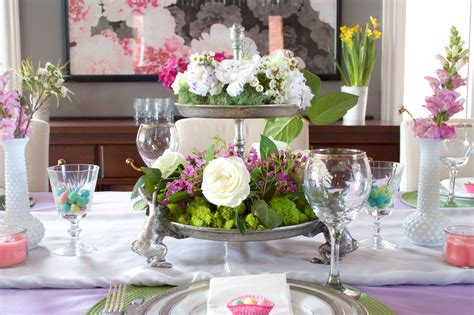 spring tablescape elliven studio easter tablescape decorating