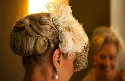 retro wedding hairstyle finger roll updo onewed com