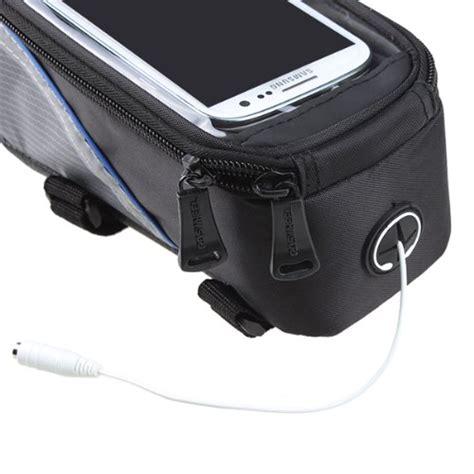 Roswheel Tas Sepeda Waterproof Untuk 4 8 Inch Smartphone Black roswheel tas sepeda waterproof untuk 4 8 inch smartphone