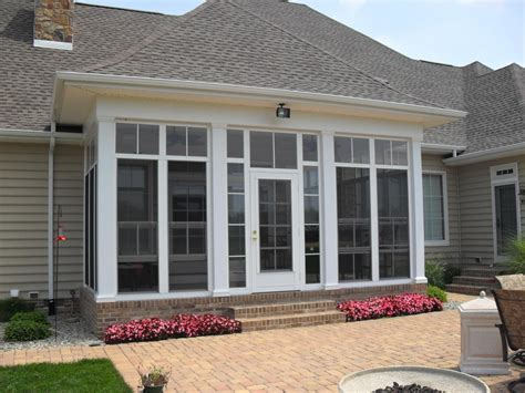 Closing In a Porch With Windows Remodel