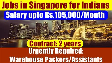 amazon jobs singapore jobs in singapore for indians job opening warehouse
