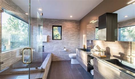 contemporary guest bath remodel in calabasas ca pure builders inc pure builders inc is your best option