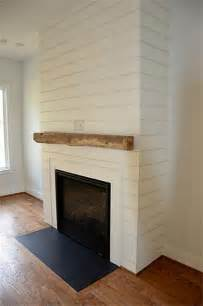 Shiplap Mantle Power House Investors Inc Heat Glo Gas Fireplace