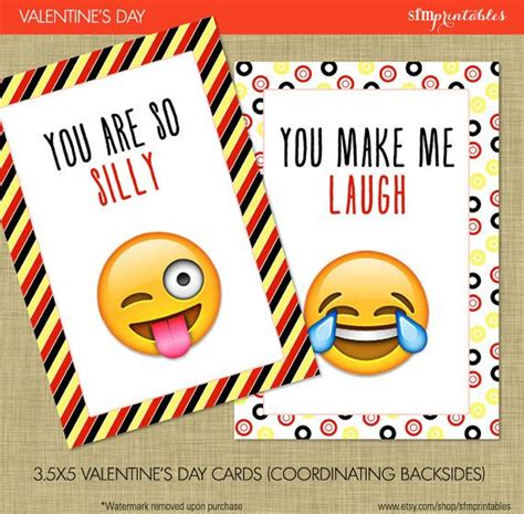 school valentines cards instant emoji s day cards