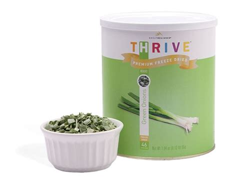 Shelf Reliance Thrive by New Product From Shelf Reliance Thrive Foods Freeze