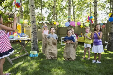 backyard birthday party games plan outdoor obstacle games for a kids birthday party