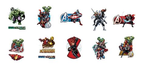 buy marvel avengers assemble vending tattoos vending