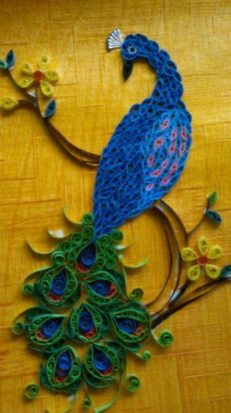 paper effect tattoo quilling peacock latoya myran possible tat love the
