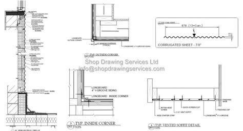 Sketches A Corrugated Bulkhead by Standing Seam Roof Section Skin Standing Seam