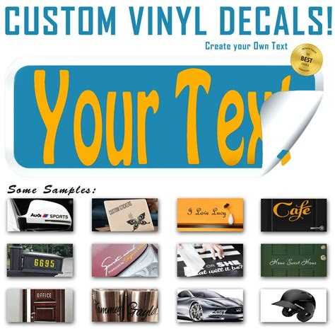 wall sticker colours and personalised decal fonts create vinyl decal lettering text personalized sticker
