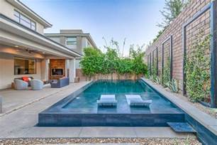 modern swimming pool modern swimming pool with trellis fence zillow digs