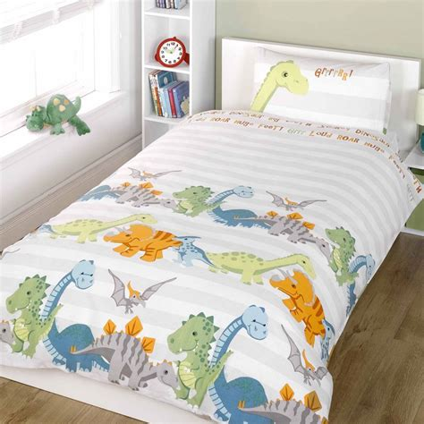 bedroom cover sets dinosaur design single double duvet cover sets boys