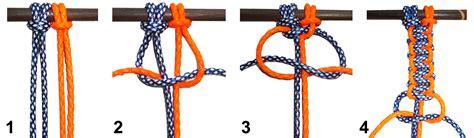makramee knoten anleitung makramee muster weberknoten kronjuwelen