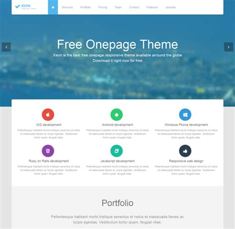 24 of the best single page templates for joomla