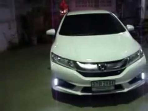 Lu Led Honda City door mirror cover with led turn signal with led day