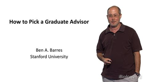 phd advisor problems how to pick a graduate advisor ibiology