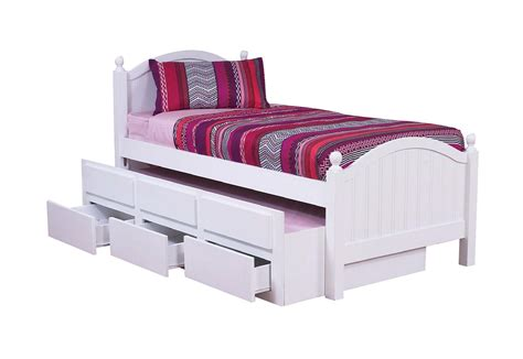 King Single Bed With Drawers by Kelly King Single Captain Bed With Trundle Drawers