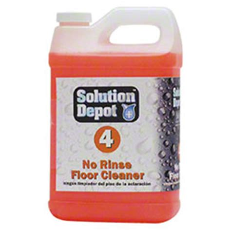 solution depot 174 no rinse floor cleaner 1 2 gal