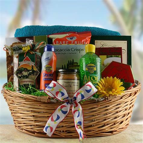 17 best ideas about summer gift baskets on pinterest