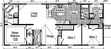 ranch modular home floor plans pennwest the pennflex ii ranch model hr170 a ranch style