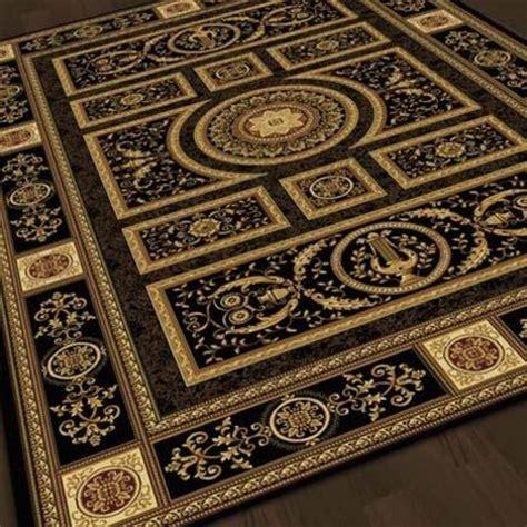 korhani area rugs korhani 174 hadrian black area rug 63 x 63 home furniture products