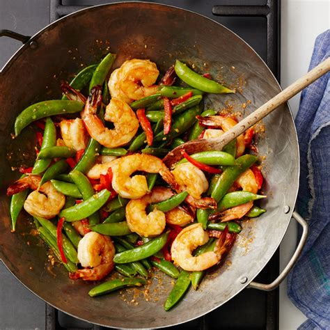 Todays Special Stir Fried Peking With Peppers And Green Beans by Stir Fried Spicy Shrimp With Sugar Snaps Recipes