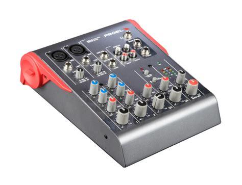 Mixer Proel Mi 10 Original proel mi6 ultra compact 6 channel passive mixer