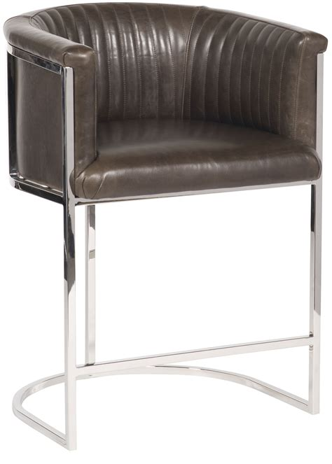 Metal Frame Counter Stools by Harrison Channel Back Metal Frame Counter Stool L972c Cs