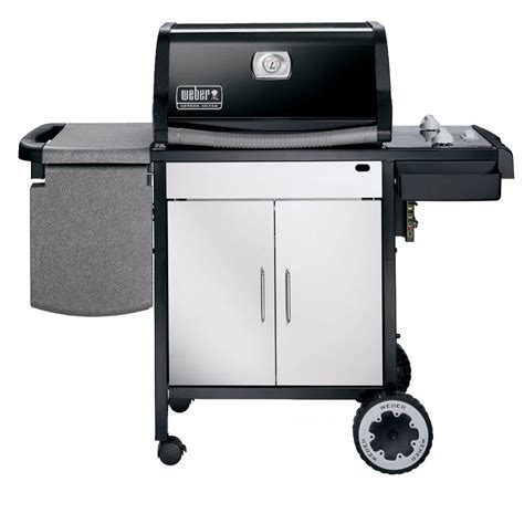 Weber Grill Silver by Weber Genesis Silver A Gas Grill Lp Black Outdoor Living