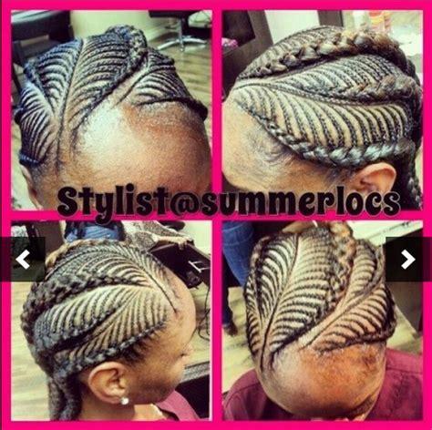 fish bone cornrow designs fishbone black braids pinterest kids natural hair