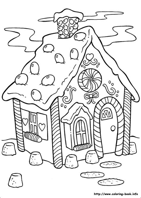 coloring pages of christmas houses christmas gingerbread house 5 coloring pages education