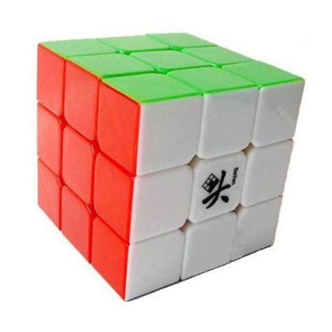 Grosir Rubik 3x3 Magic Cube dayan guhong 3x3 speed cube 6 color stickerless v1 rubiks cube toys