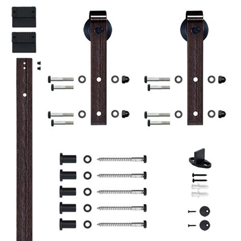 Soft Closed Hook Strap Oil Rubbed Bronze Rolling Barn Door Rubbed Bronze Barn Door Hardware