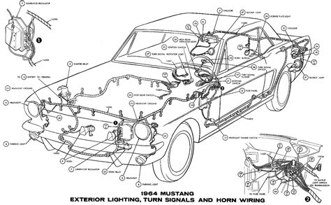 mustang wiring diagrams average joe restoration