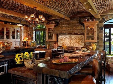 rustic mediterranean kitchen rustic interiors bring the atmosphere of the to