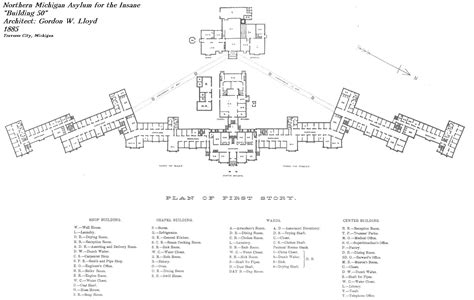 mental hospital floor plan hospital the arcana wiki